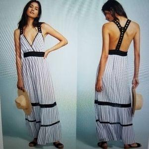 Anthropologie Lilk maxi dress